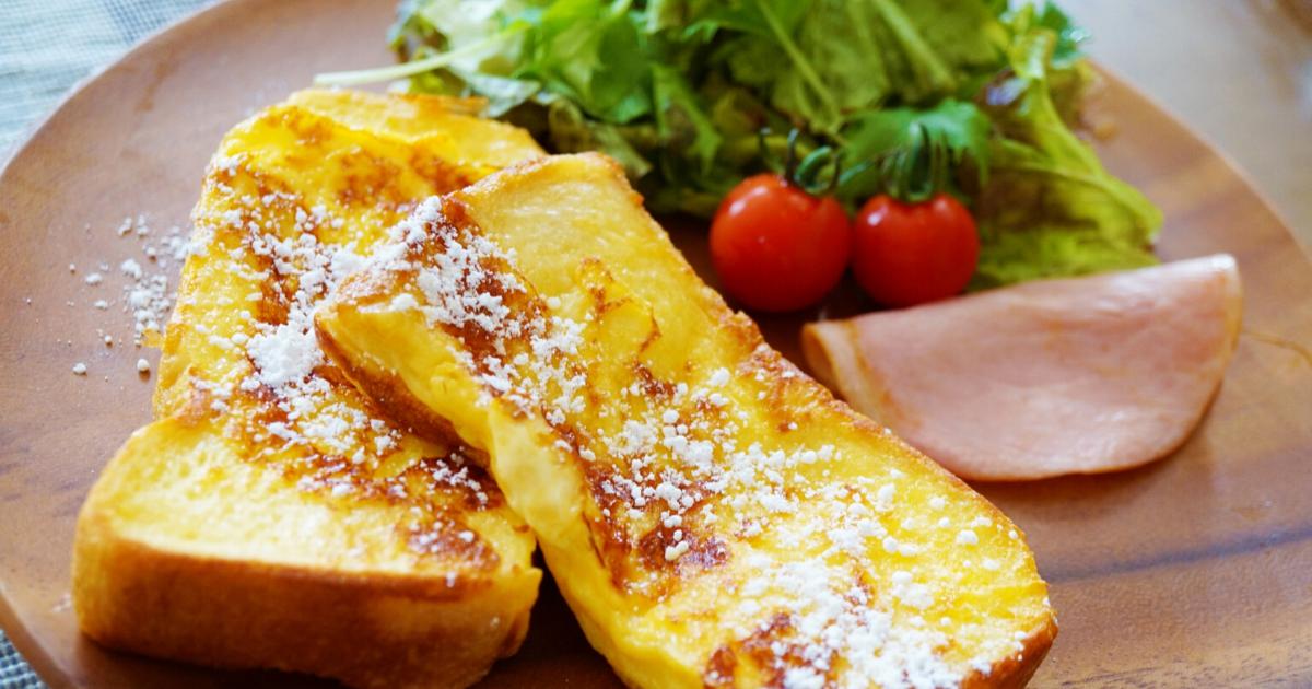 フレンチトーストの簡単なレシピ