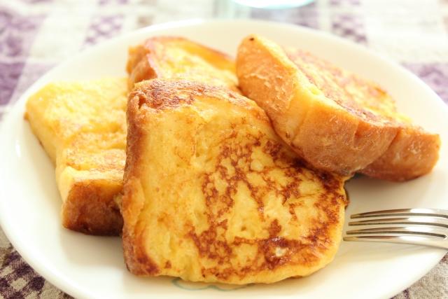 簡単フレンチトーストのレシピ