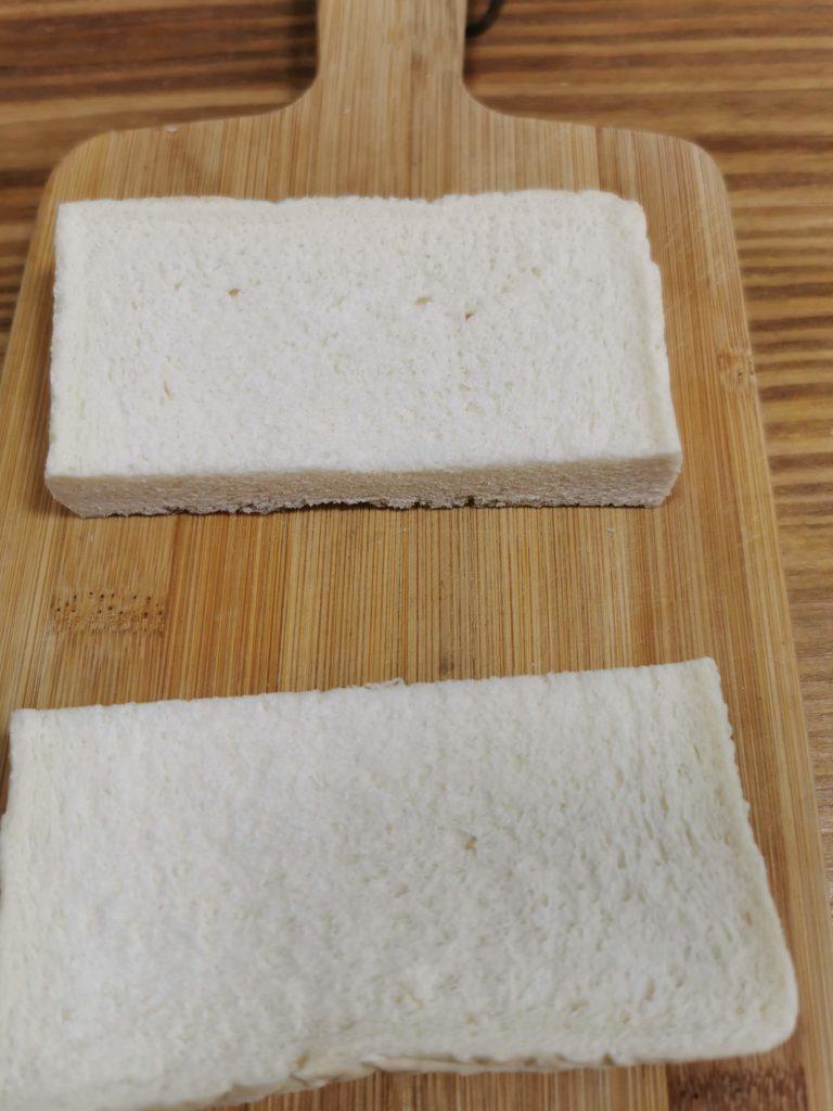 I冷凍食パンをフレンチトースト