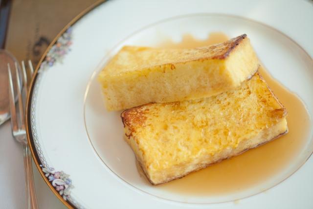 牛乳なしフレンチトーストのレシピ